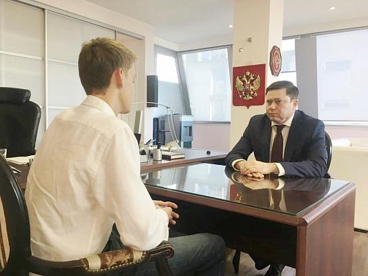 Студенты СГУ встретились с Председателем комитета Государственной Думы Сергеем Кривоносовым