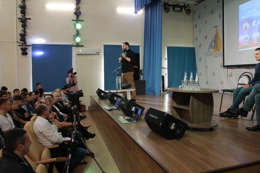 В Сочинском госуниверситете прошла лекция-дискуссия «Россия и мир: понимание будущего»